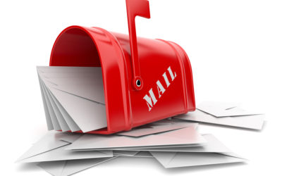 A good method to use in making sure your correspondence gets opened!